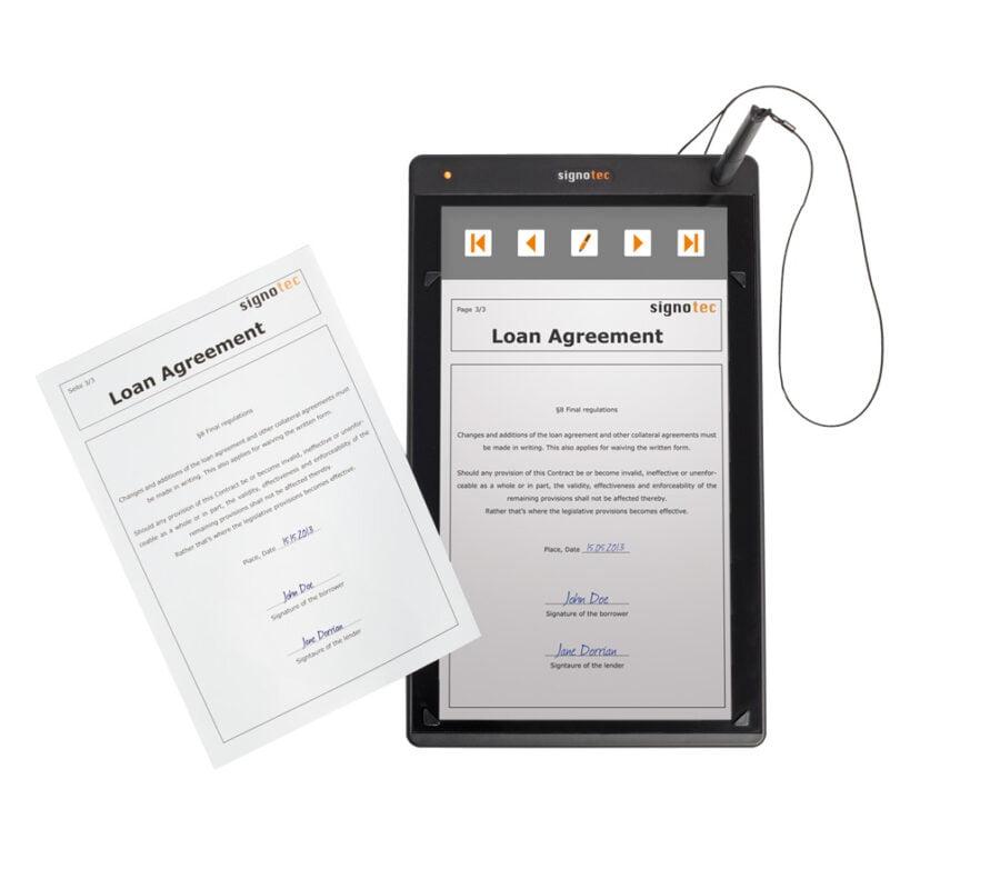 планшет подписи документов alpha