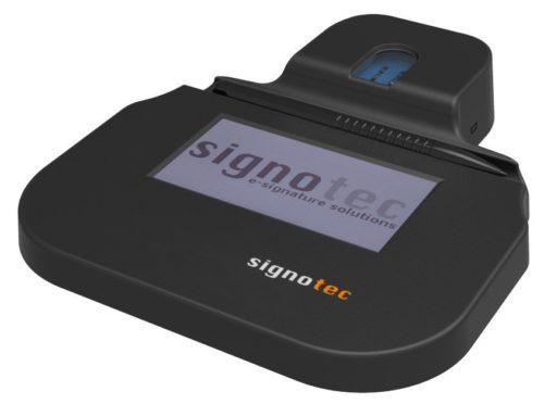 планшет подписи электронных документов kappa с сканером отпечатка