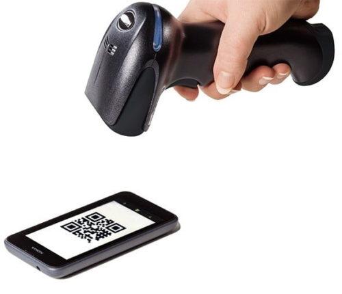 портативный сканер штрих кодов